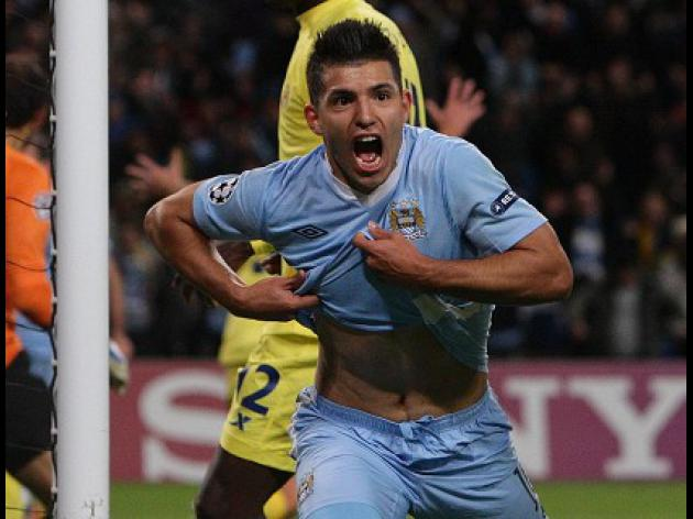 Mancini revels in late Aguero show