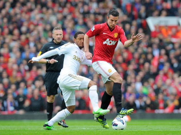 Swansea V Man Utd At Liberty Stadium : LIVE