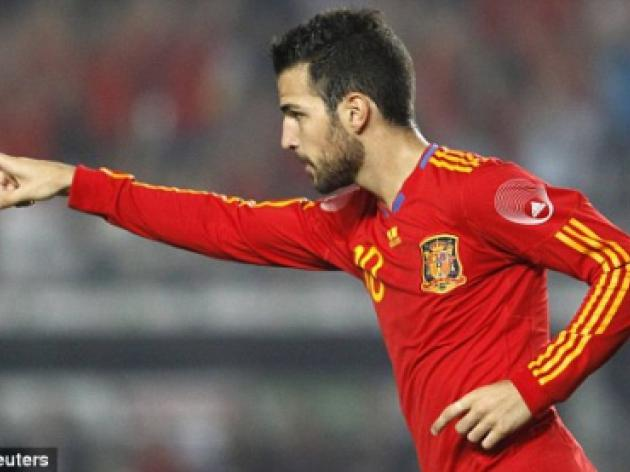 Barcelona aim to sort out Cesc Fabregas' switch from Arsenal while he is at the World Cup