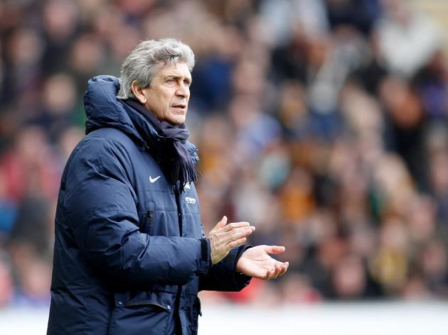 Pellegrini praises battling City