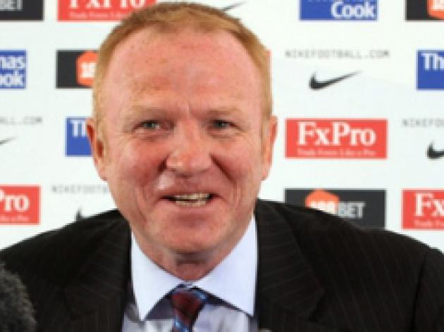 Villans cough up for McLeish