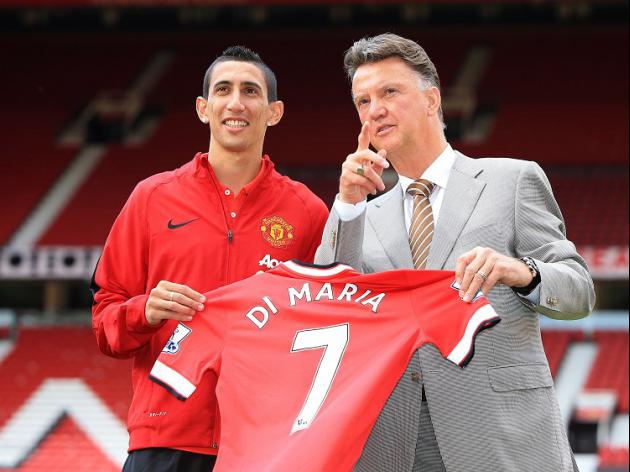 van Gaal calls for Di Maria patience