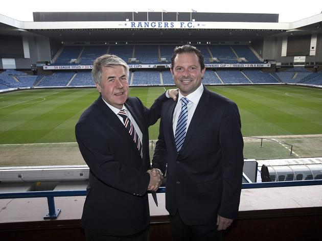 Rangers chairman Murray backs Craig Mather