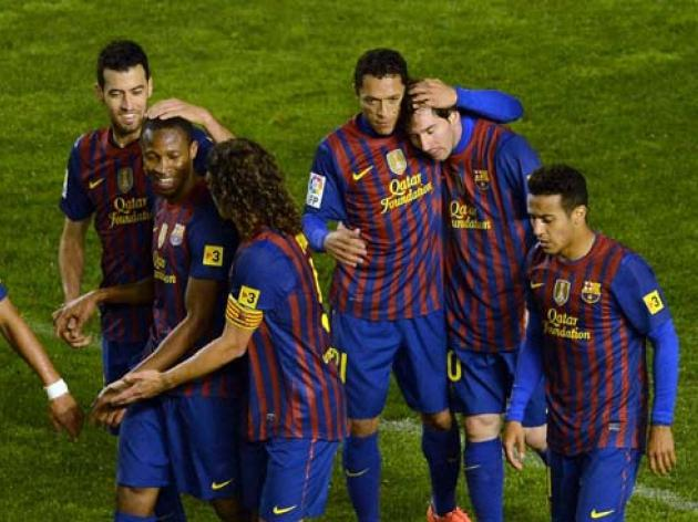 Barca demolish Rayo Vallecano in 7-0 victory