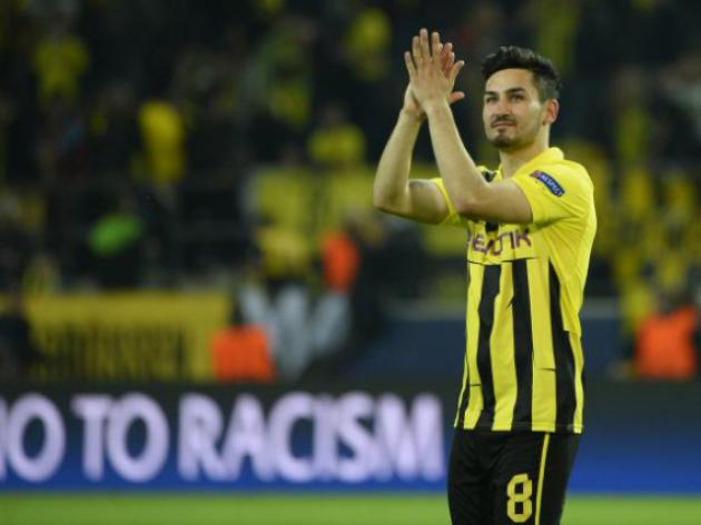 Dortmund lose Gundogan for another month
