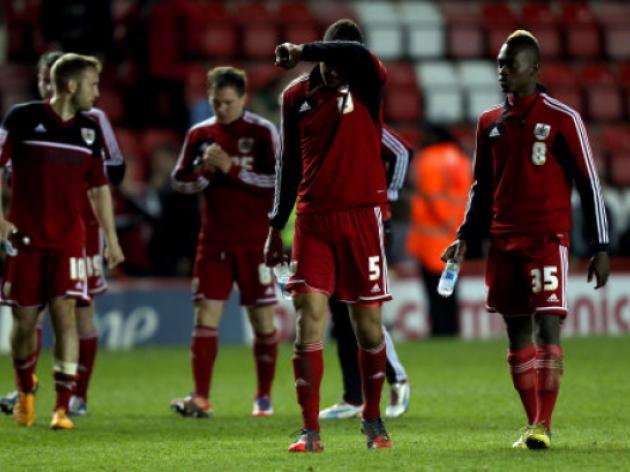 Birmingham City relegate Bristol City