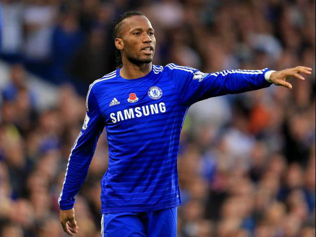 Drogba hails attacking Blues