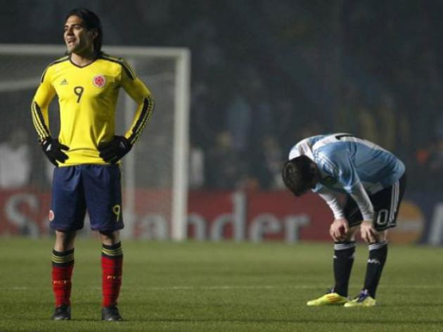 Colombia thwart Argentina in World Cup qualifier