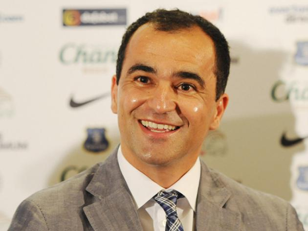 Is Everton boss Martinez eying up his first signing?