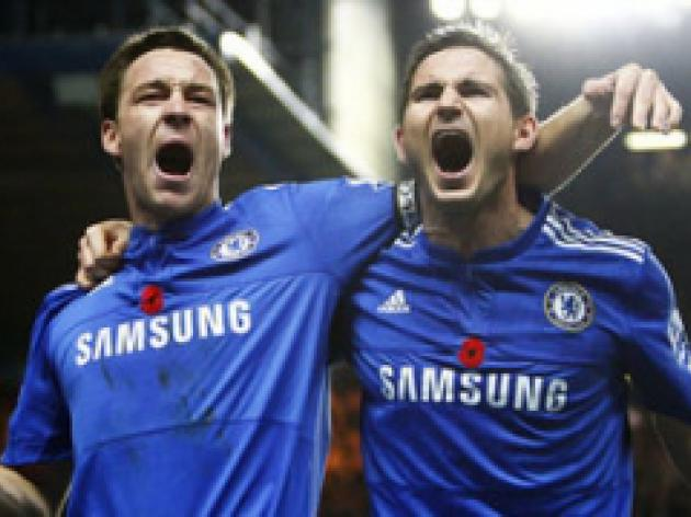 Lampard: 'Brilliant' Terry at heart of success