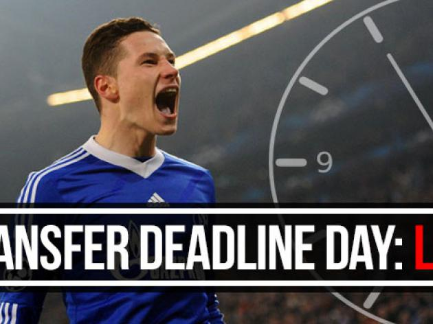 Live: Transfer Deadline Day - January 2014