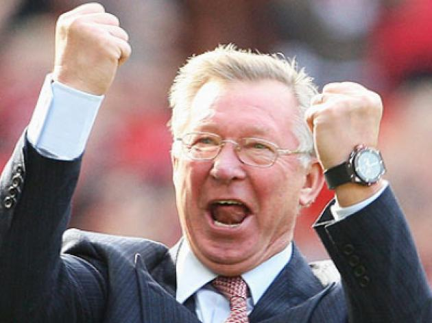Top 5 Premier League Celebrations 1: Sir Alex Ferguson