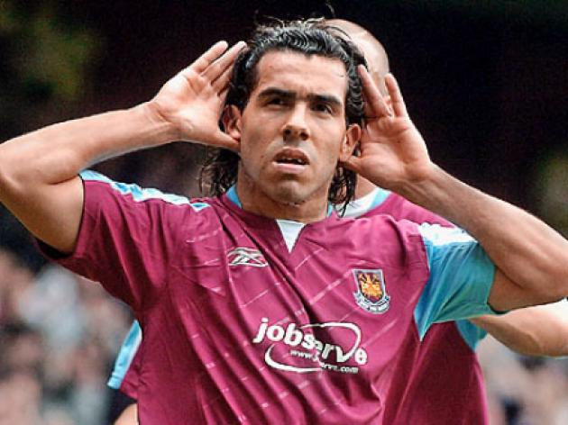 West Ham failed with bids for Torres and Tevez