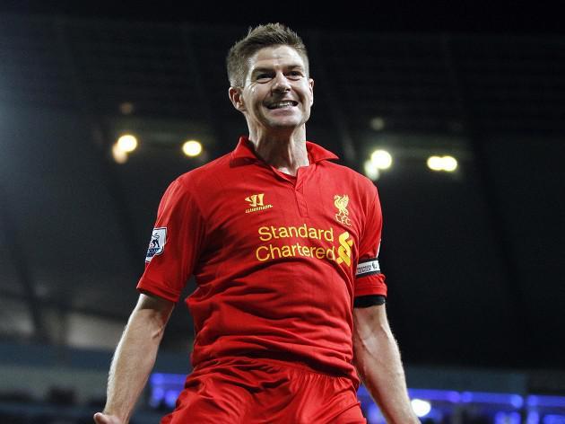 Liverpool captain Steven Gerrard targets Champions League spot