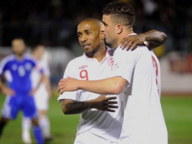 Tottenham stars Steven Caulker and Jermaine Defoe talk about England v Montenegro