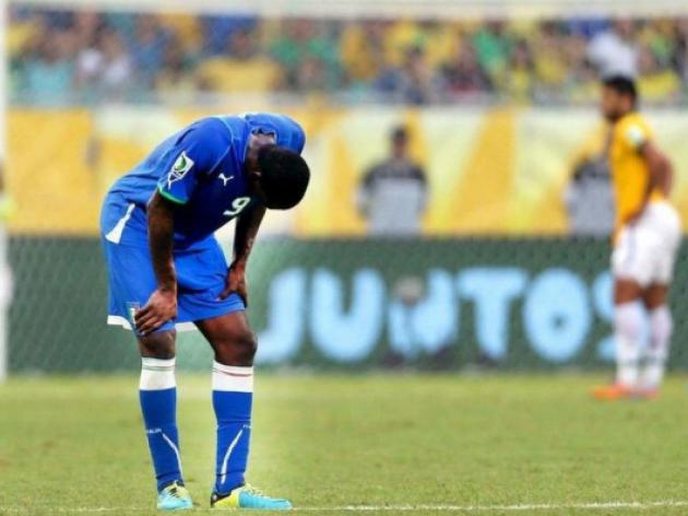 Balotelli injury leaves Italy light upfront