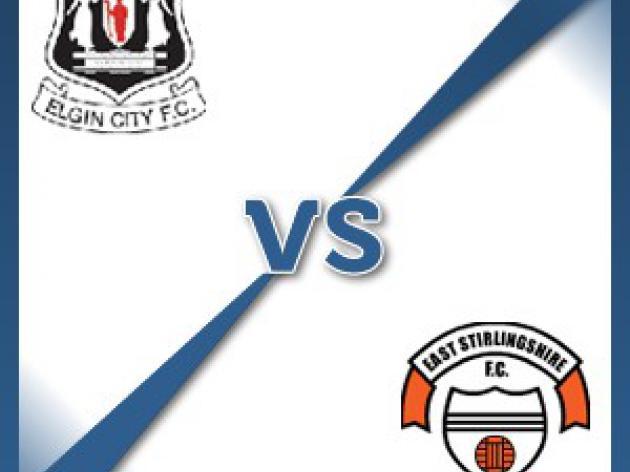 Elgin V East Stirling at Borough Briggs : Match Preview