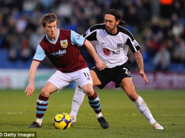 Burnley 1 Fulham 1: Goalkeeper Brian Jensen is too often the Clarets hero