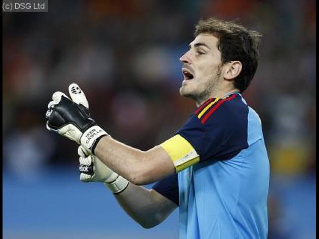 I have to fight for my place - Casillas