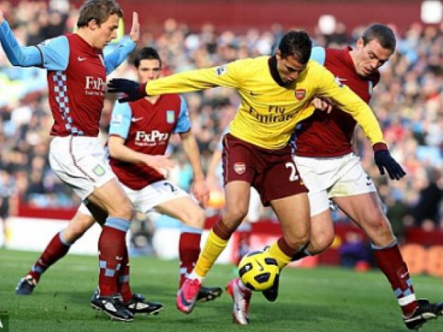 Arsenal's Marouane Chamakh says Premier League is leaving him battered and bruised