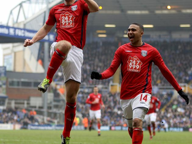 Birmingham City 1-3 West Bromwich Albion: Report