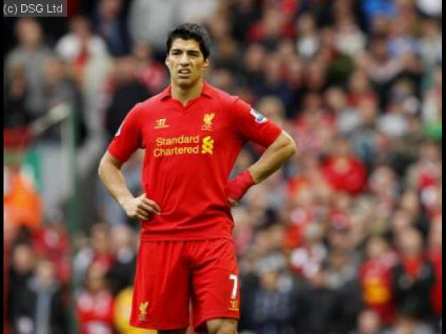 Suarez may have just reason to feel the victim
