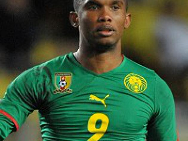 Eto'o disappointed by Cameroon