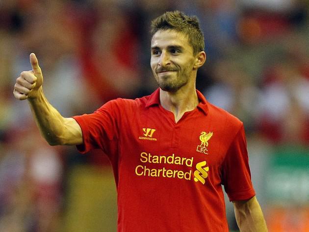 Liverpool forward Fabio Borini set for early return