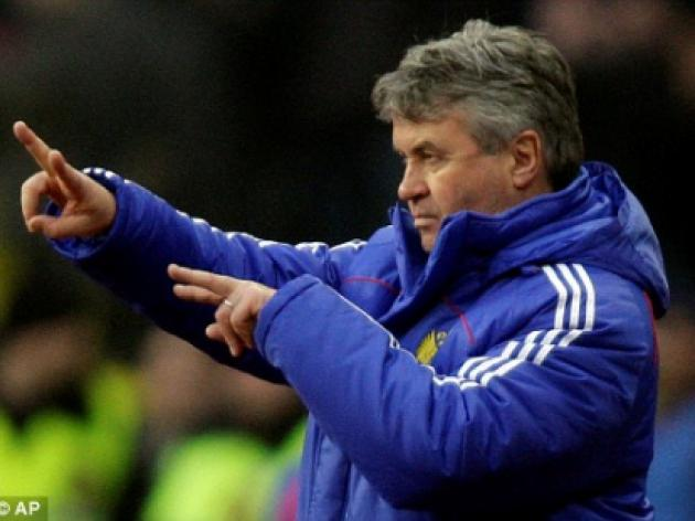 Ghost of Wembley in 96 back to haunt Chelsea boss Hiddink
