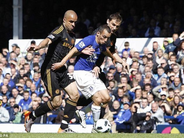 Everton 1 Chelsea 0: Toffees finish on a high as Jermaine Beckford condemns Blues