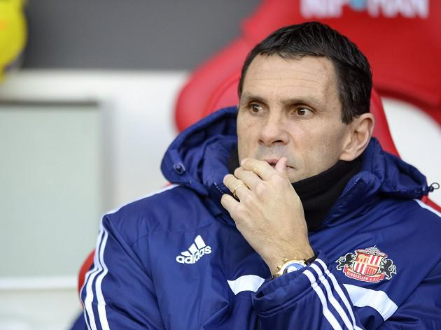 Poyet's Black Cats bottom at Christmas
