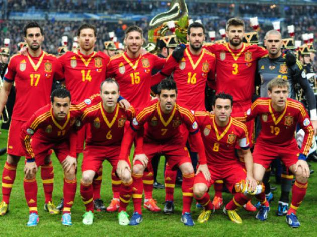 World Cup 2014 - 91 days to go: Teams - Spain
