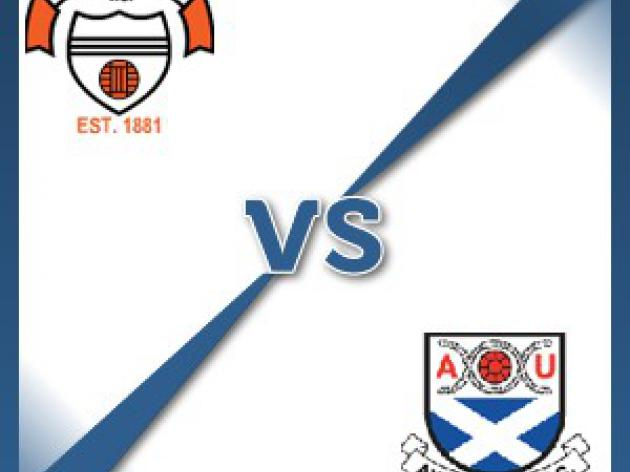 East Stirlingshire V Ayr United - Follow LIVE text commentary