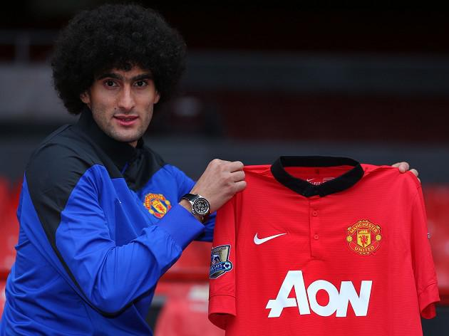Fellaini keen on emulating Keane