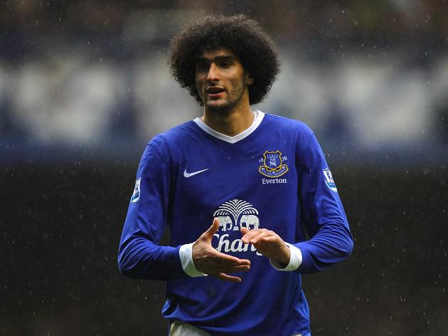 Martinez: Fellaini happy at Everton