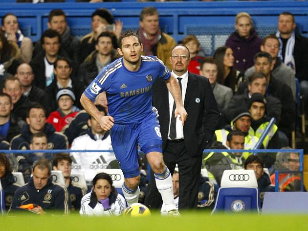 Chelsea boss Rafa Benitez believes in Frank Lampard