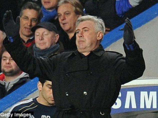 Carlo Ancelotti has had talks with Roma, claims Chelsea manager's ex-team mate Ruggiero Rizzitelli