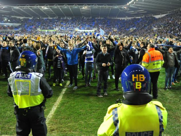 Of course there was a pitch invasion at Reading v Bradford