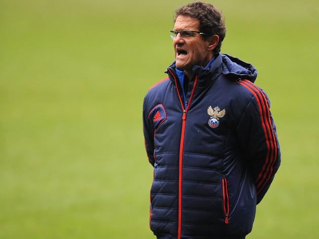Russia and Capello head out for Brazil