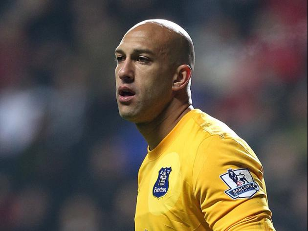 Goalkeeper Tim Howard: the new Captain America