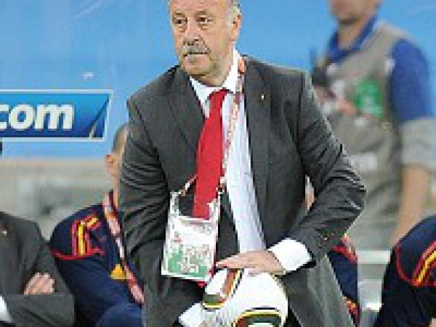 Top spot no advantage - Del Bosque