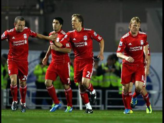 Brighton 1-2 Liverpool: Match Report