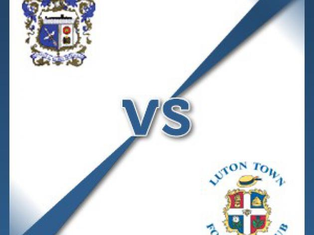 Barrow Town V Luton Town - Follow LIVE text commentary
