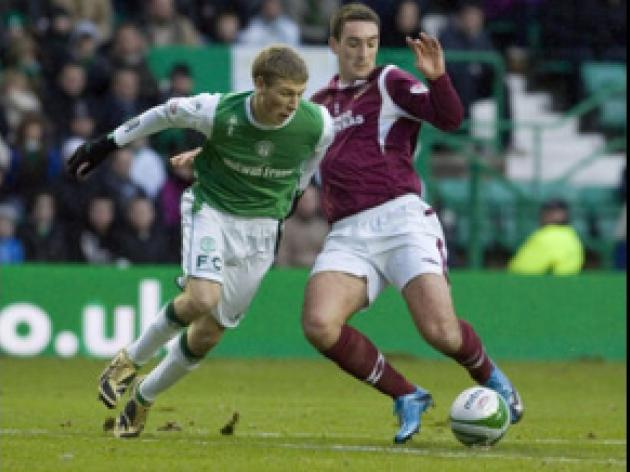Spoils shared in Edinburgh derby