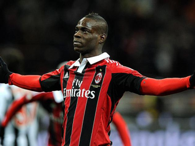 Balotelli at the double for AC Milan