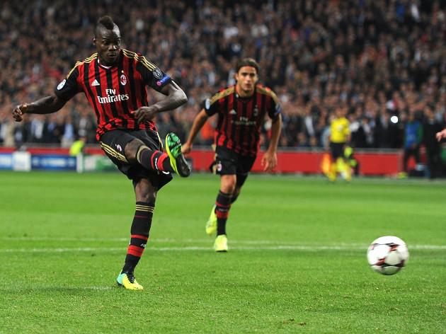 Balotelli rescues a point for Milan