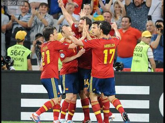 Confederations Cup result - Spain 10 Tahiti 0