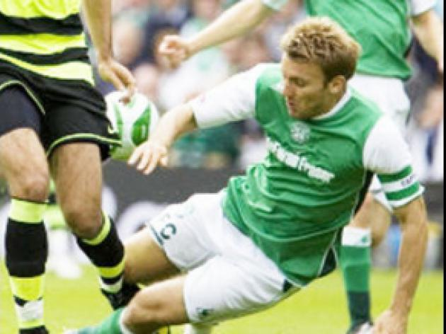Hogg hoping Hibs can cement third