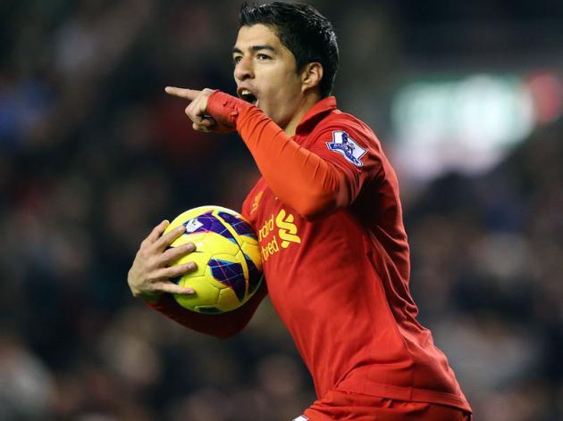 Liverpool Slap 40million Price Tag On Luis Suarez Amidst Manchester City Interest