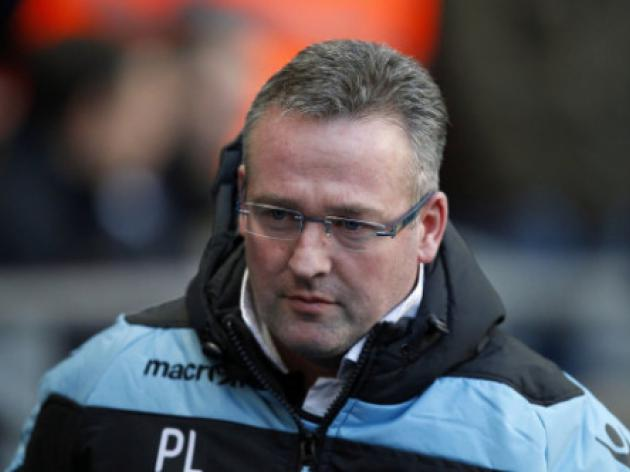 Aston Villa manager Paul Lambert served with touchline ban